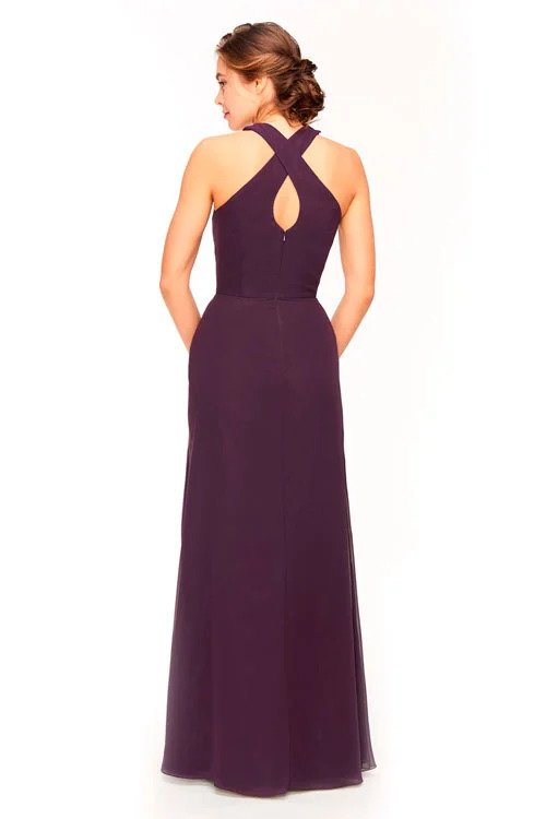 Bari Jay Bridesmaid Dress 1971 - back