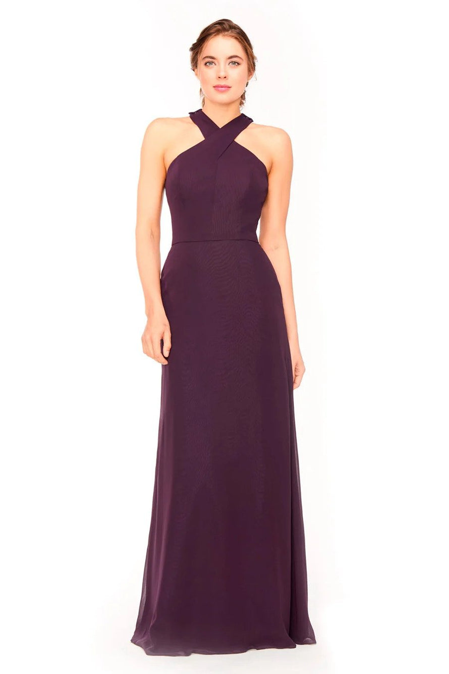 Bari Jay Bridesmaid Dress 1971 - front