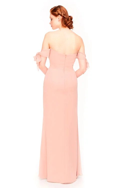 Bari Jay Bridesmaid Dress 1974 -back