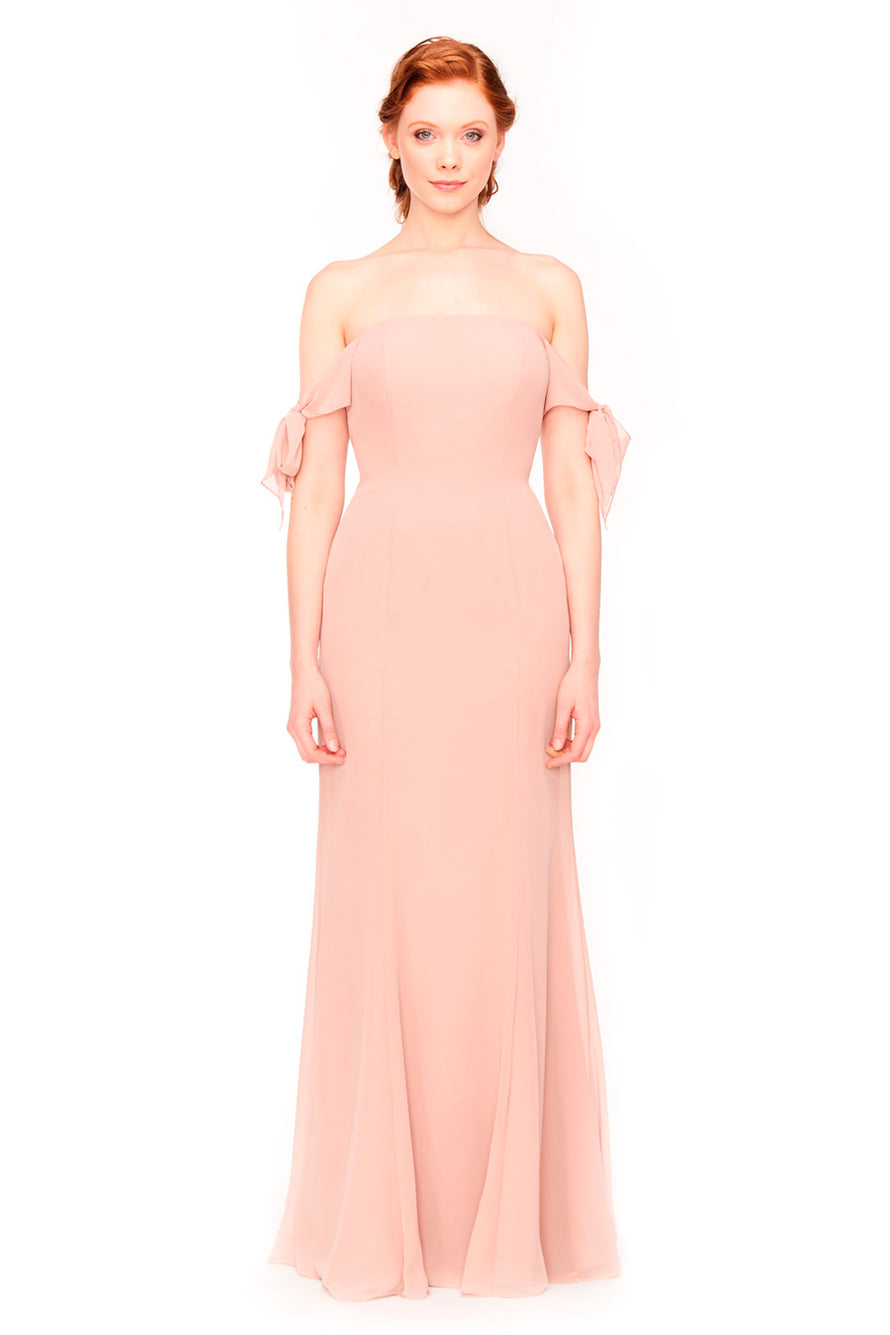 Bari Jay Bridesmaid Dress 1974 -front