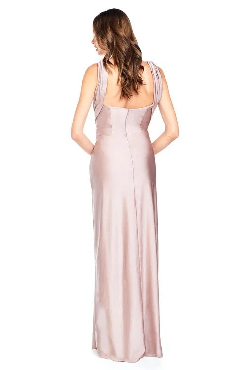 Bari Jay Bridesmaid Dress - 2001 back