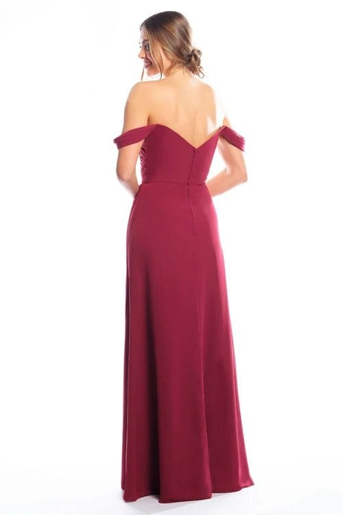 Bari Jay Bridesmaid Dress 2080 - back