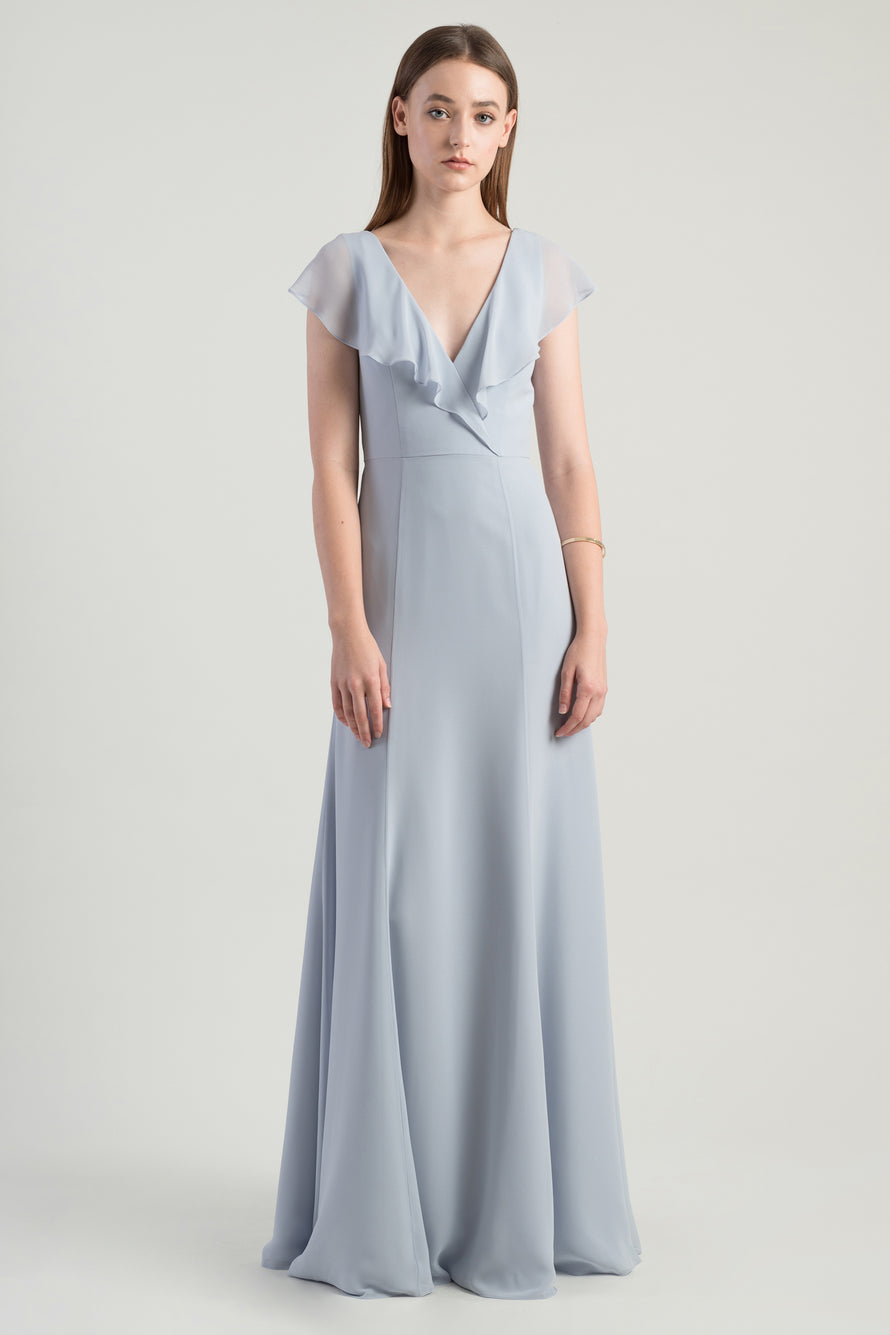 Jenny Yoo Long Bridesmaid Dress Rochelle