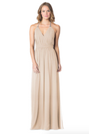 Beige-Bari Jay Bridesmaid Dress - 1600