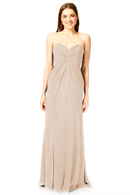 Bari Jay Bridesmaid Dress 1870 -Beige