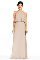 Bari Jay Bridesmaid Dress 1801-Beige