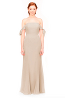 Bari Jay Bridesmaid Dress 1974 - Beige
