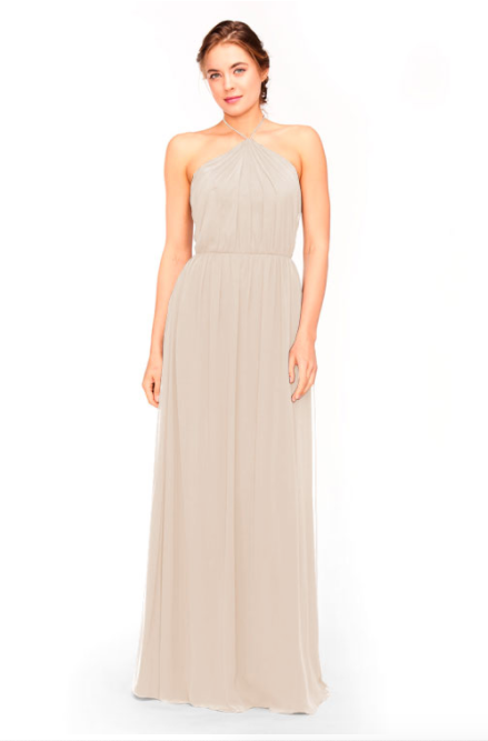 Bari Jay Bridesmaid Dress 1969 - Beige