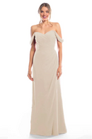 Bari Jay Bridesmaid Dress 2080 - Beige