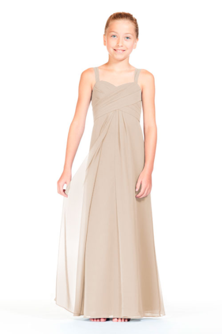 Bari Jay Junior Bridesmaid Dress 1803 (JR)-Beige
