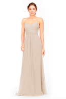 Bari Jay Bridesmaid Dress 1962 -Beige