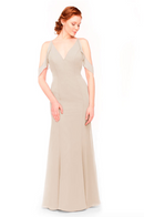 Bari Jay Bridesmaid Dress 1972 - Beige