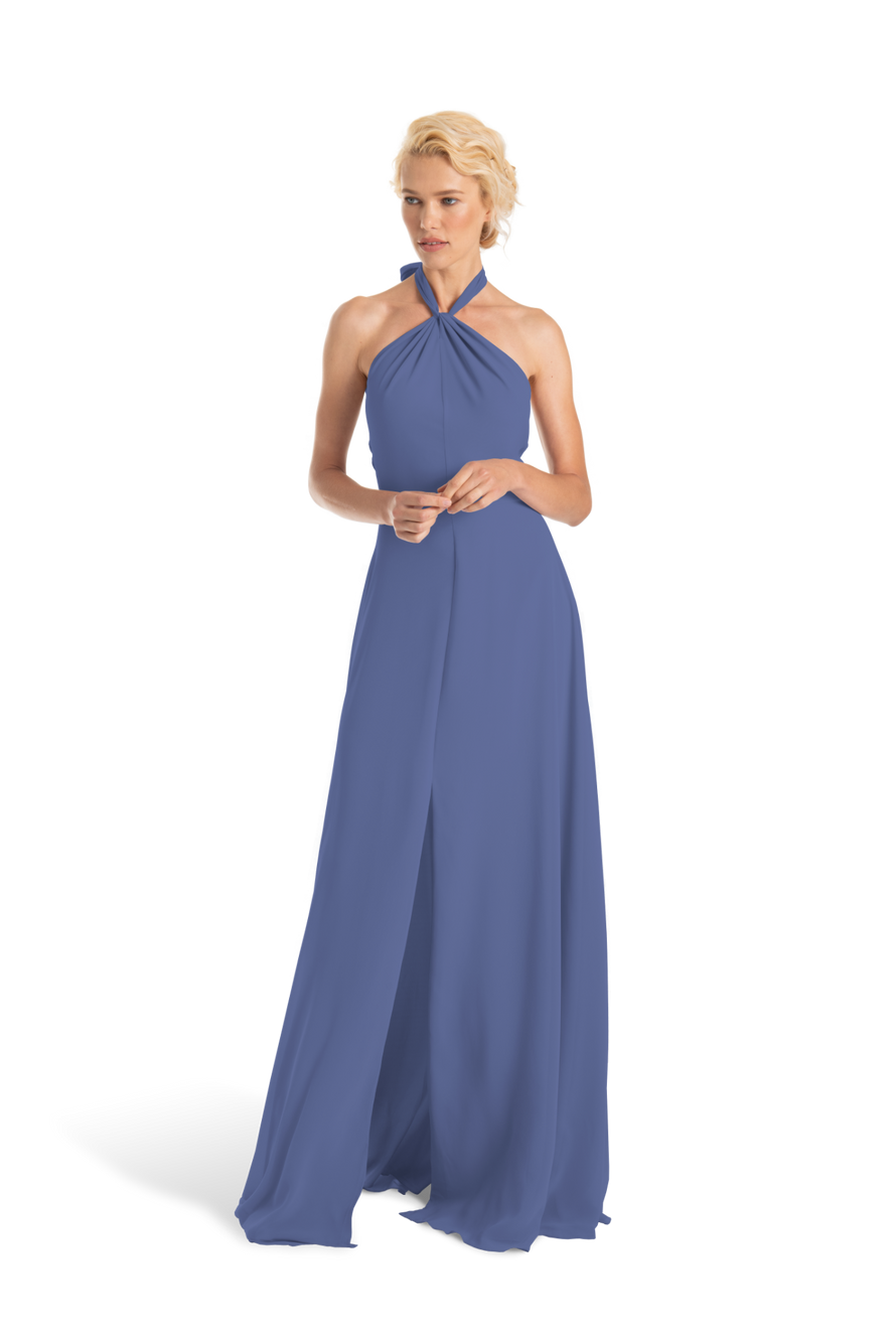 Blue Bella bridesmaid exclusive dress