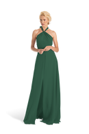 Emerald Joanna August Long Bridesmaid Dress Bella