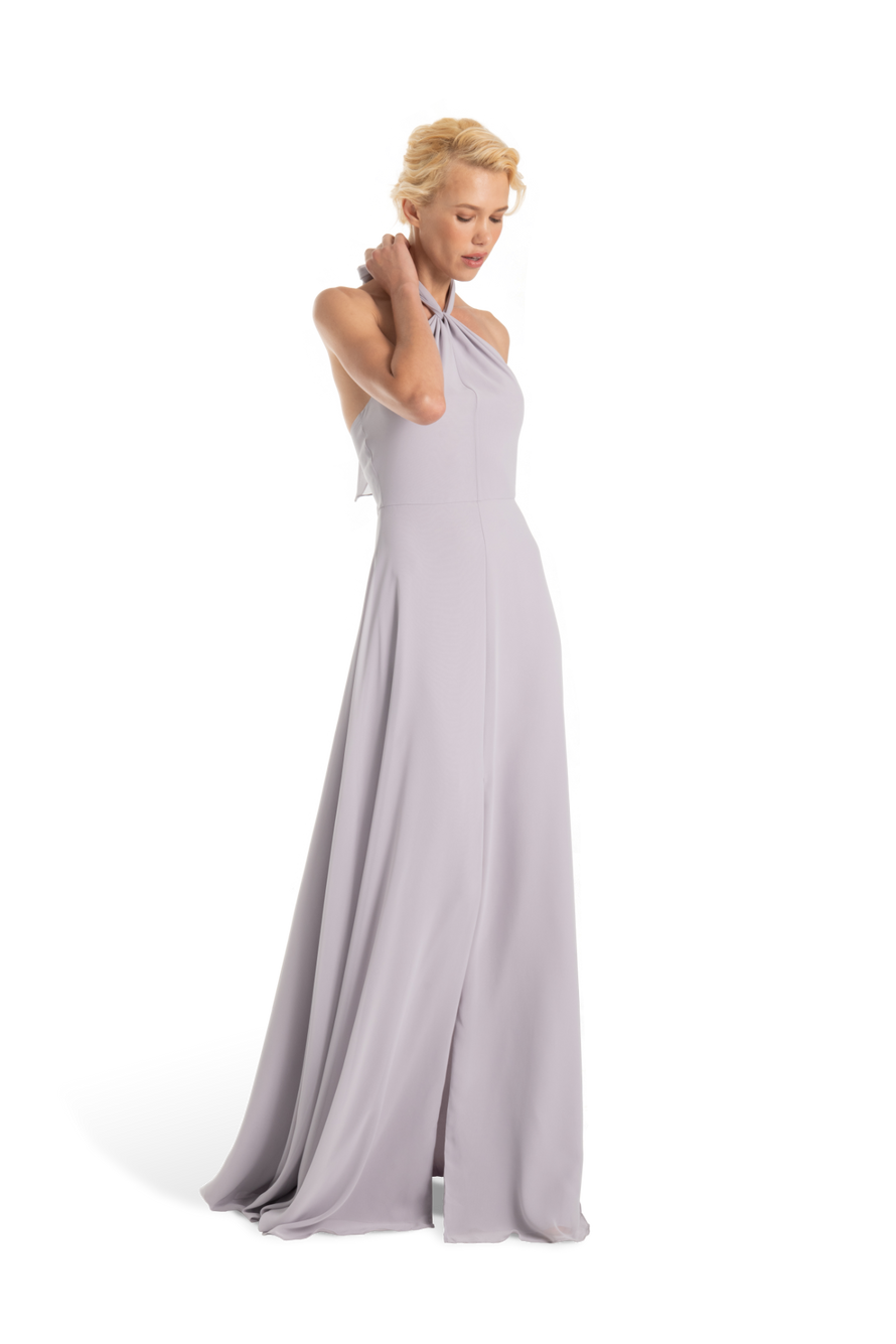 Joanna August Long Bridesmaid Dress Bella Chiffon