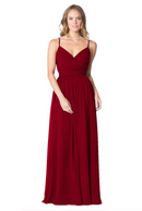 Bari Jay Bridesmaid Dress - 1606 BC-Berry