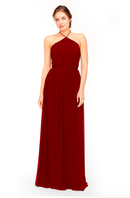 Bari Jay Bridesmaid Dress 1969 - Berry