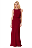 Bari Jay Bridesmaid Dress - 1661-Berry