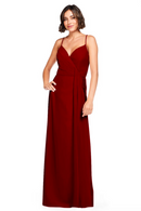 Bari Jay Bridesmaid Dress 2026 - Berry