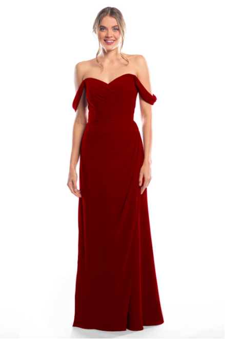 Bari Jay Bridesmaid Dress 2080 - Berry