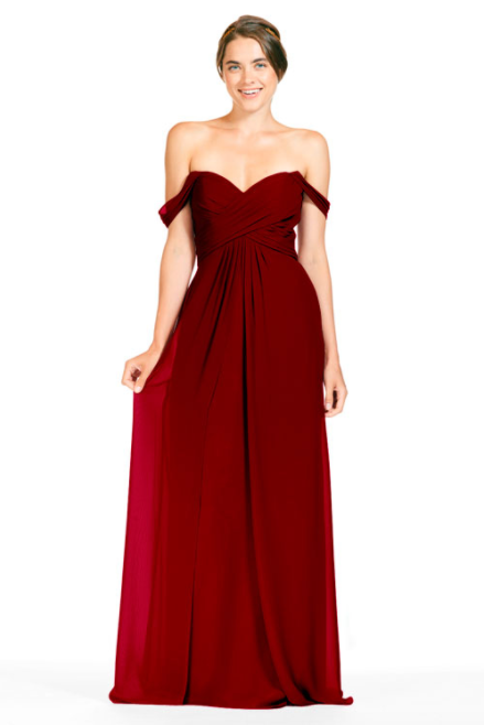 Bari Jay Bridesmaid Dress 1803 - Berry
