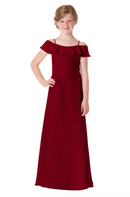 Bari Jay Junior Bridesmaid Dress - 1730(JR)-Berry