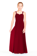 Bari Jay Junior Bridesmaid Dress 1803 (JR)-Berry