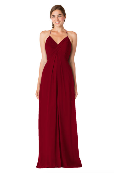 Bari Jay Bridesmaid Dress - 1723 BC-Berry