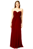 Bari Jay Bridesmaid Dress 1870 -Berry