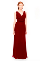 Bari Jay Bridesmaid Dress 1970 -Berry