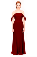 Bari Jay Bridesmaid Dress 1974 - Berry