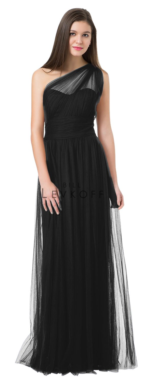 BillLevkoffBridesmaidDressStyle1228-Black