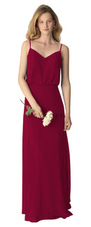 BillLevkoffBridesmaidDressStyle1266-Cranberry