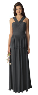 BillLevkoffBridesmaidDressStyle1276-Charcoal