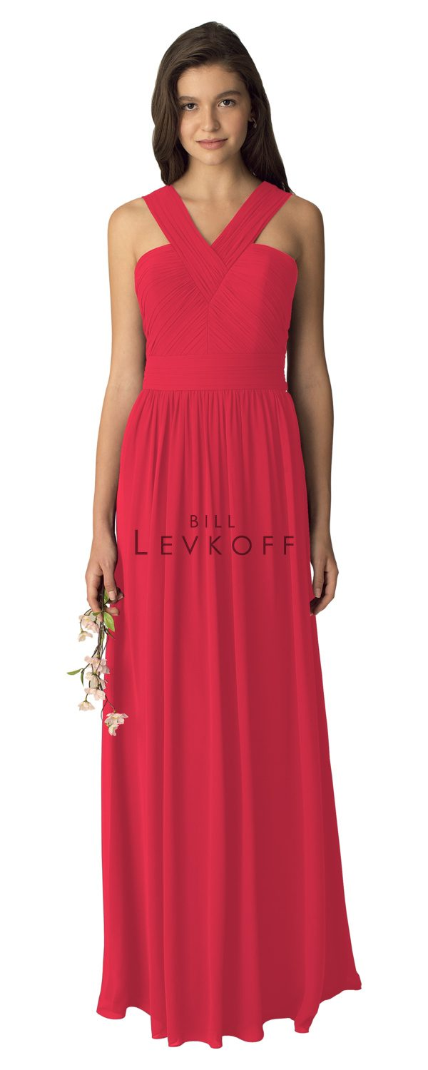BillLevkoffBridesmaidDressStyle1276-Cherry