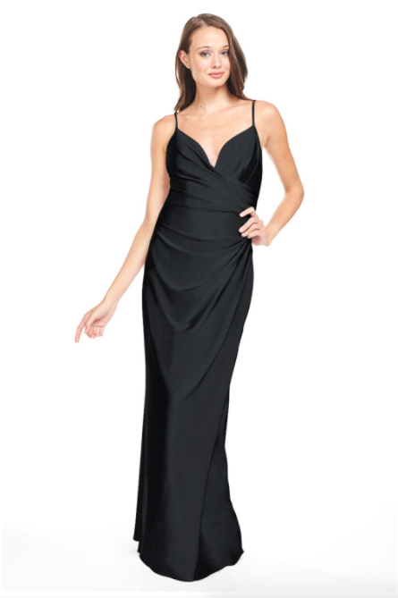 Bari Jay Bridesmaid Dress - 2005 Black