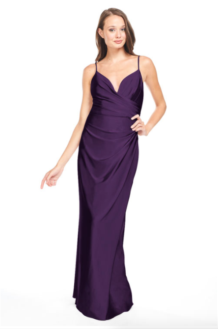 Bari Jay Bridesmaid Dress - 2005 Black Berry