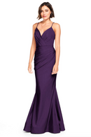 Bari Jay Bridesmaid Dress 2000 -BlackBerry
