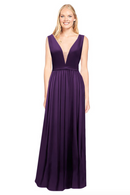 Bari Jay Bridesmaid Dress 2034 - BlackBerry