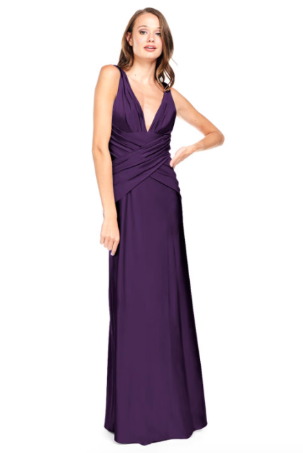 Bari Jay Bridesmaid Dress 2001 -BlackBerry