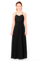 Bari Jay Junior Bridesmaid Dress 1962 - Black
