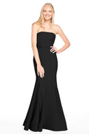 Bari Jay Bridesmaid Dress 2015 -Black