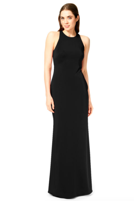 Bari Jay Bridesmaid Dress 1882 - Black