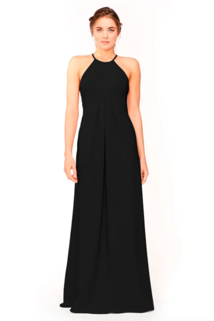 Bari Jay Bridesmaid Dress 1950 -Black