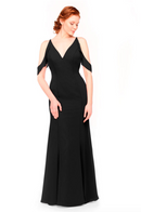 Bari Jay Bridesmaid Dress 1972 - Black