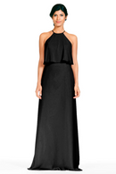 Bari Jay Bridesmaid Dress 1801-Black
