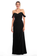 Bari Jay Bridesmaid Dress 2080 - Black