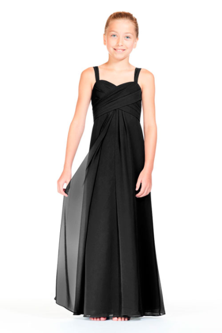 Bari Jay Junior Bridesmaid Dress - 1803 (JR) Black