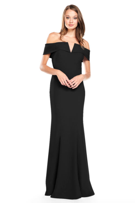 Bari Jay Bridesmaid Dress 2014 -Black