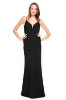 Bari Jay Bridesmaid Dress 2012 - Black